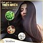 Combo 4 hộp Thuốc nhuộm tóc phủ bạc thảo dược Richenna Hàn Quốc màu nâu đen 4