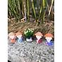combo bộ tượng cầm kỳ nón cói+ lọ hoa thumbnail