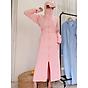 Áo chống nắng nữ đa năng TTD, bảo vệ toàn thân, chân tay, mặt đầu, siêu bảo vệ - xanh than thumbnail