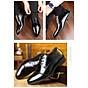 Giày da thật nam giày da nam cao cấp giày nam công sở sang trọng, phong cách thời trang giày da cao cấp giày nam mẫu mới mã 8867-A 7