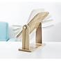 Gương soi trang điểm để bàn cao cấp xoay được 360 độ tiện dụng chất liệu gỗ ép chắc chắn kích thước 17 x 22 cm - Gương gỗ để bàn Trang Điểm 7