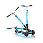 Xe trượt scooter 3 bánh GLOBBER ULTIMUM LIGHTS cho trẻ em từ 5 tuổi - Xanh da trời thumbnail