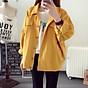 Áo Khoác Kaki Nam Nữ Màu Vàng Thời Trang Tina thumbnail