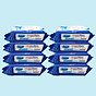 Combo thùng 8 gói Khăn ướt cồn kháng khuẩn cao cấp iHomeda ( 80 Miếng Gói) - Combo 8 of iHomeda premium anti-bacteria alcohol wipes ( 80 sheets per packpage) thumbnail
