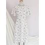 Đầm váy nữ dài hoa nhí, dáng xoè, đẹp nhẹ nhàng, đơn giản, ngọt ngào RD037.2 3
