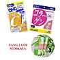 Combo Viên Uống Collagen - Vitamin C DHC Nhật Bản 30 Ngày (Tặng Kèm 2 Gói Bột Cần Tây Sitokata) thumbnail