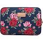 Túi chống sốc Laptop, macbook Cao Cấp Floral Mẫu Mới + Tặng kèm 01 sổ tay thumbnail