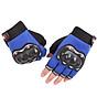 Găng tay cắt ngón thể thao nam có miếng đệm bảo vệ, phù hợp chạy xe máy, xe đạp thể thao thumbnail