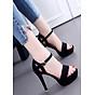 Giày cao gót hậu khóet bên hông Thời trang Kóreá thumbnail