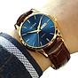 Amazon Watches,Brown Leather Watch for Men,Men Day Date Watch,Men s Luminous Watch,Dress Watch for Men,Rose Gold Watch for Men,Men s Fashion Quartz Watch,Men Watch on Clearance thumbnail