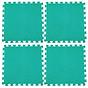Bộ 4 tấm Thảm xốp lót sàn an toàn Thoại Tân Thành - màu xanh ngọc (60x60cm) thumbnail
