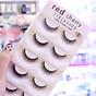 Mi 3D Red Cherry Eyelashes 5