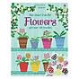 Usborne Rub-Down Transfer Book Flowers thumbnail