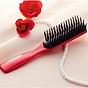 Lược chải tóc chống xơ rối, giảm gãy rụng (màu đỏ) - Hàng nội địa Nhật thumbnail