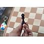 Đồ chơi bằng gỗ tự nhiên an toàn cho bé yêu, cờ vua dành cho trẻ em kiêm hộp đựng và bàn cờ cao cấp - Tặng Kèm Móc Khóa 4Tech. 4