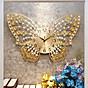 Đồng hồ treo tường - Đồng hồ treo tường hình cánh bướm - Đồng hồ trang trí - Đồng hồ treo tường pin AA - Đồng hồ treo tường - Đồng hồ treo tường sang trọng thumbnail