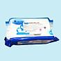 Khăn ướt cồn kháng khuẩn cao cấp iHomeda ( Gói 80 Tờ) - iHomeda Premium anti-bacteria alcohol wipes ( 80 sheets per package) thumbnail