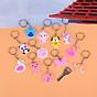 Móc chìa khóa hoạt hình silicon kute dễ thương thumbnail