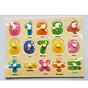 5 Bảng đồ chơi ghép gỗ có núm cho bé Mã 004 thumbnail