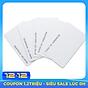 [ Set 5 thẻ] Thẻ từ máy chấm công tần số 125 Khz - thẻ mỏng 0.8mm thumbnail