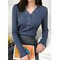 Áo len nữ phối dãy cúc cách điệu Haint Boutique al59 thumbnail