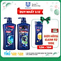 Combo 01 Dầu Gội Clear Men Cool Sport 650G & 01 Dầu Tắm Gội Clear Men 3In1 Active Cool 630G thumbnail