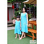 Little Luna - Váy đầm mẹ bé linen thêu hoa cúc SIZE ĐẠI 12KG - 65 KG thumbnail