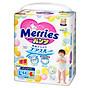 Bỉm Merries loại tã quần, size L50 (L44 + 6) cộng miếng (44 + 6 miếng) (cho bé 9-14kg hoặc trẻ từ 8-30 tháng tuổi)- Hàng nhập khẩu từ Nhật Bản, hàng chính hãng từ nhà sản xuất KAO - NB96 thumbnail