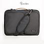Túi chống sốc Laptop, túi macbook 14inch -15.6 inch Rainbow BG001 chất liệu Canvas chống thấm, lót mút + nhung chống va đập bảo vệ thân máy thumbnail