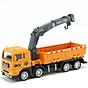 Xe mô hình đồ chơi xe tải nâng hàng DLX chất liệu nhựa an toàn cho bé (hàng nhập khẩu) thumbnail