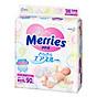 Tã bỉm dán cho bé sơ sinh Merries SS90 (NB 5kg) 90 miếng - Nội địa Nhật Bản thumbnail