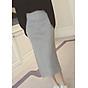 Chân váy bút chì xẻ tà nhiều màu cv02 thumbnail