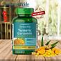 TPCN bảo vệ hệ tiêu hóa tinh chất nghệ vàng Tumeric Curcumin 500mg 180 viên của Puritan s Pride thumbnail