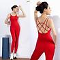Set Đồ Tập Yoga Jumpsuit Livan Sport Tặng Kèm Mút Ngực Cao Cấp thumbnail
