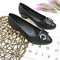 Giày cao gót nữ công sở đế 4p đính nơ đá xinh xắn hàng VNXK siêu bền M20 thumbnail