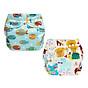 Combo 2 bộ tã vải Ngày Siêu chống tràn BabyCute size S, M, L - Giao mẫu ngẫu nhiên thumbnail