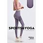 Quần thể thao nữ quần legging co giãn nhanh khô, túi hai bên phối lưới, quần yoga chạy bộ mã MTCK9016 5