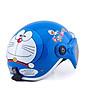 Mũ Bảo Hiểm Em Bé Tem Doremon_ Kính chắn gió chống bụi cho trẻ từ 5 - 8 tuổi thumbnail