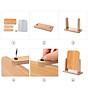 Gương trang điểm để bàn decor mini 13x18cm, xoay 360 độ, chất liệu gỗ ép thân thiện, sang trọng 7