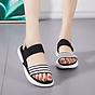 Giày sandal Quai kẻ ngang đế mềm êm - Hàng Đẹp 4