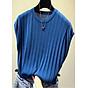 Áo len nữ ngắn tay trơn cổ tròn nhiều màu Haint Boutique Al15 thumbnail