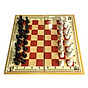 Bộ cờ vua nam châm cỡ đại 42cm x 42cm hộp đỏ thumbnail