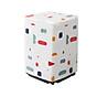 Vỏ Bọc Máy Giặt Áo Trùm Máy Giặt PVC Chống Nước Chống Bụi Cửa Trên, Cửa Đứng Họa Tiết Hình Khối thumbnail