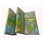 Thảm tranh xốp XPE 2 mặt cao cấp cho Bé - với 2 rãnh, 1 gân dễ dàng gấp gọn- KT thảm 1,8m X 2, dày 1cm thumbnail