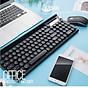 Bộ bàn phím và chuột không dây LT500 (Tặng kèm lót ) 8