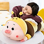 Gấu Bông Ôm Cho Bé Hình Ong Lợn Siêu Xinh size 100cm thumbnail