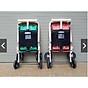 Xe đẩy du lịch (có mái che, phanh chân, bảo hiểm, túi đồ)- màu cho bé trai- chọn màu ngẫu nhiên 8
