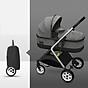 Xe đẩy trẻ em 2 chiều 3 tư thế gấp gọn, xe đẩy du lịch, xe đẩy nôi cho bé siêu nhẹ, chỉ 7KG ( xám ) thumbnail