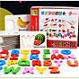 Đồ chơi giáo dục - đồ chơi ghép chữ cái tiếng anh theo thẻ flash card giúp trẻ phát triển trí tuệ thumbnail