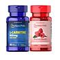 Combo hỗ trợ giảm cân TỰ NHIÊN Raspberry ketone& L-carnitine cho cơ địa khó giảm thumbnail